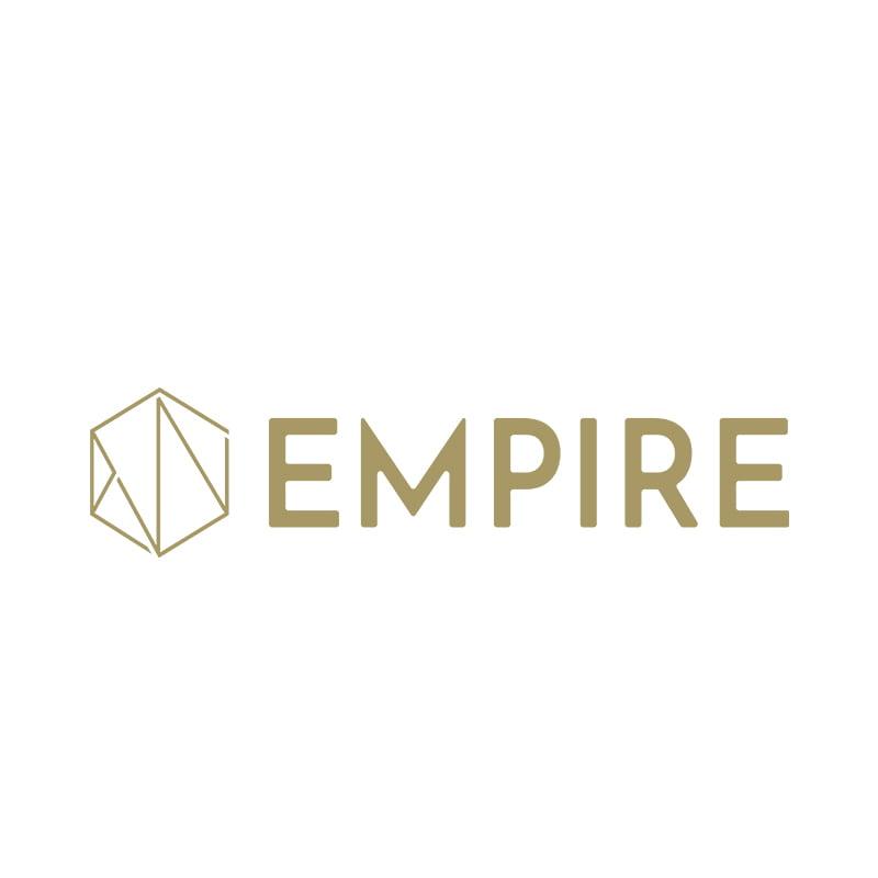 empire logo guld