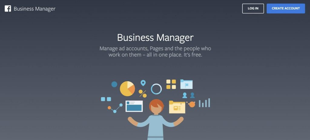 facebook annonsering business manager