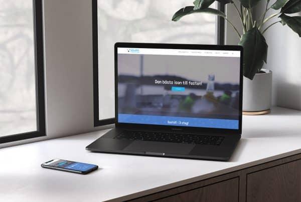 isbudet webbutveckling av webbyrå i stockholm