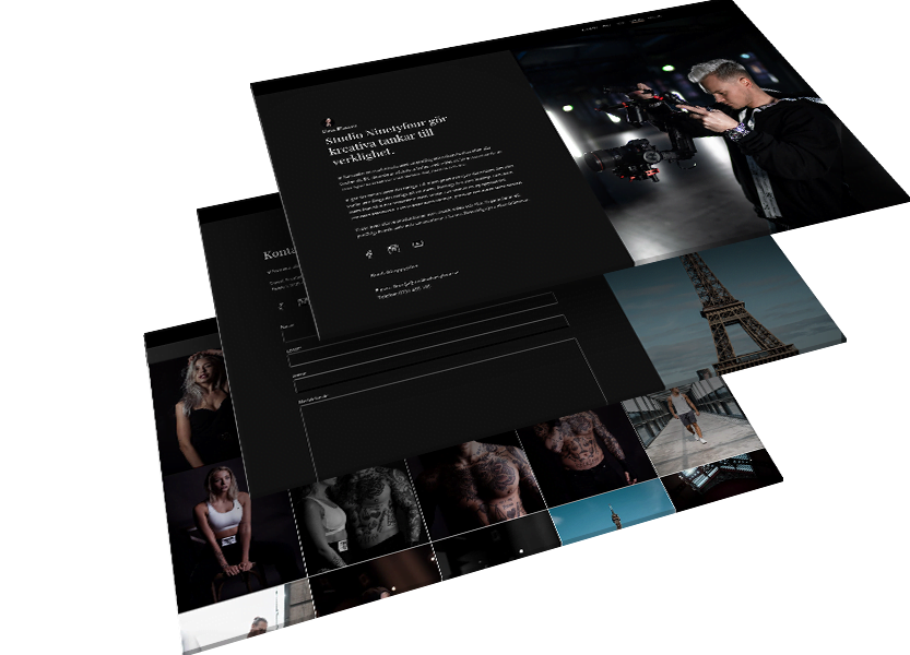 studio hemsida av webbyrå