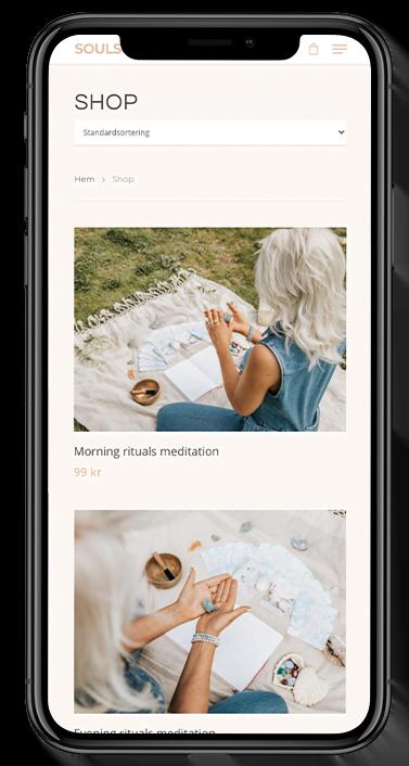 soulscape hemsida för meditation
