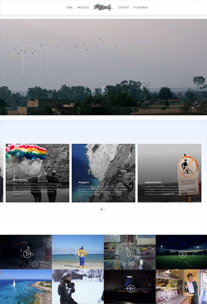 filmriding sport hemsida