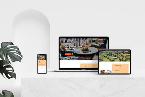 hemsida till restaurang i Stockholm
