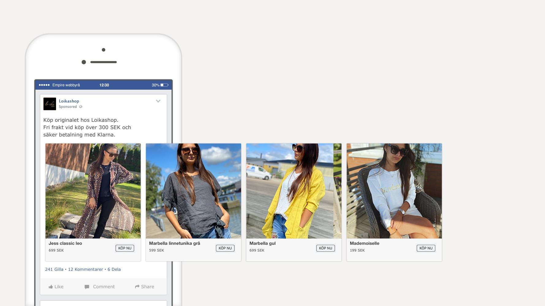 misstag och strategier facebook annonser