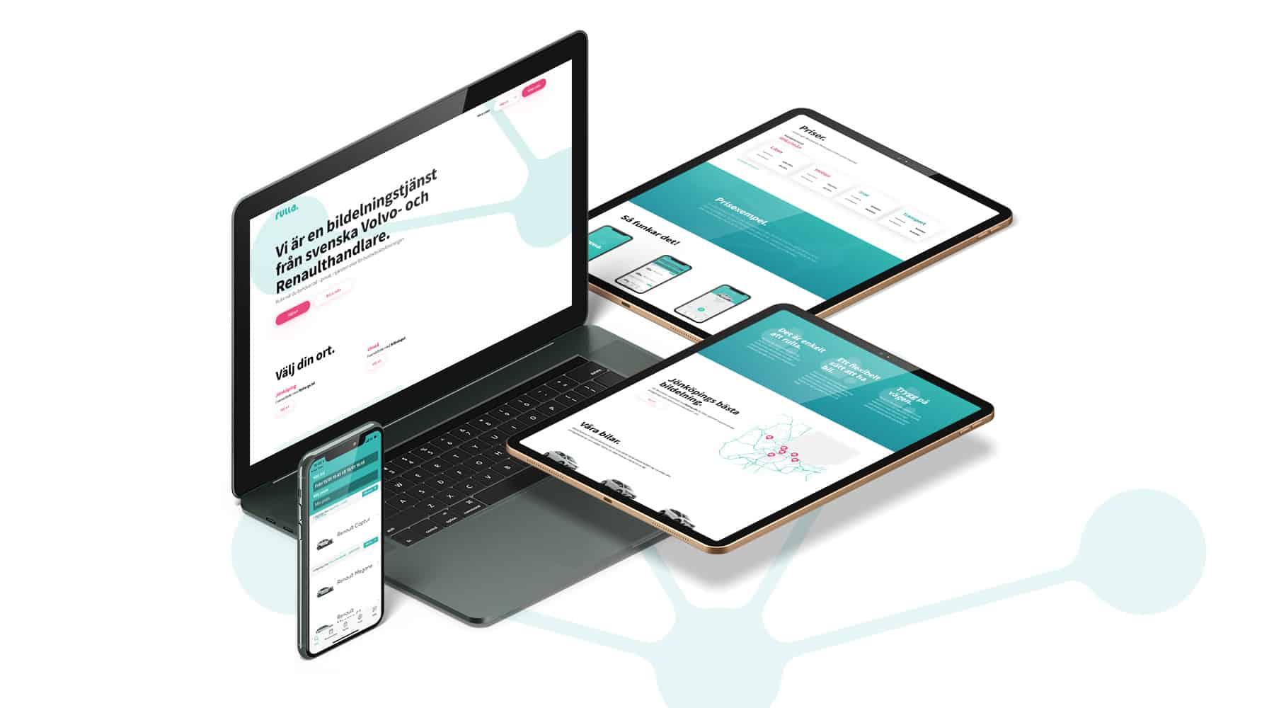 rulla webdesign